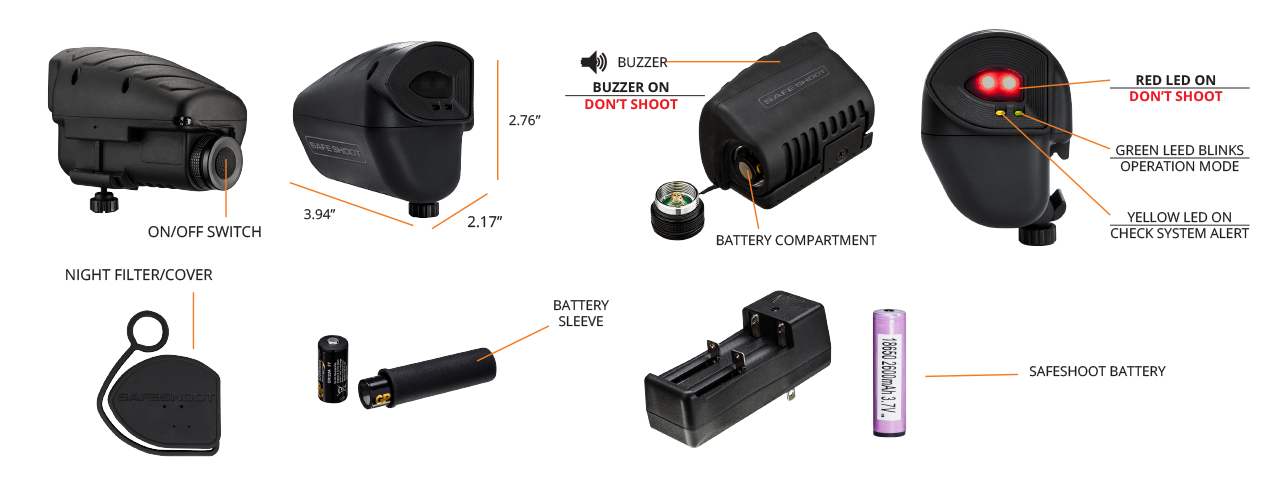 SafeShoot Device Specifications